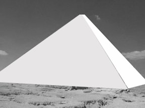 white pyramid of giza